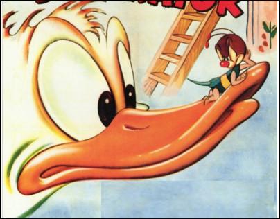 Qui cette abeille virulente, une grande ennemie de Donald Duck ?