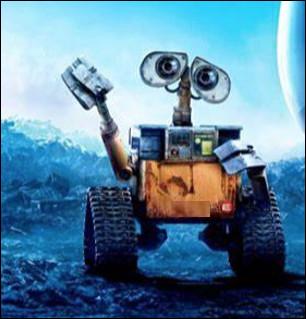 Qui est ce petit robot, unique survivant de sa génération, vivant seul sur la terre jusqu'à sa rencontre avec un robot sonde ?