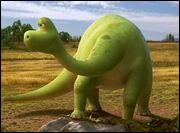 Qui est cette femelle opatosaure, exploitante agricole et mère d'Arlo ?