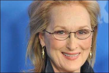 Son nom est Streep, quel est son prénom ?