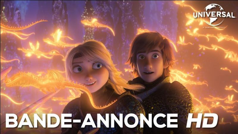 Quels sont les dragons derrière Harold et Astrid ?