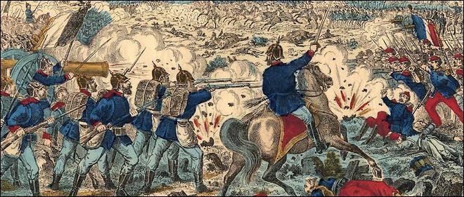C'est, le 1er septembre 1870, l'affrontement majeur de la guerre franco-prussienne de 1870-71 : l'armée prussienne conduite par Moltke est victorieuse, l'armée français capitule et l'empereur Napoléon III est fait prisonnier. C'est la fin du second Empire et la perte par la France de l'Alsace-Moselle.