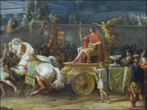 La bataille oppose, en 168 av. J.-C., l'armée de Persée, roi de Macédoine, aux légions romaines de Paul-Émile. Elle se conclut par la défaite totale de Persée. C'est la fin du royaume de Macédoine. Rome étend sa domination sur la Grèce.