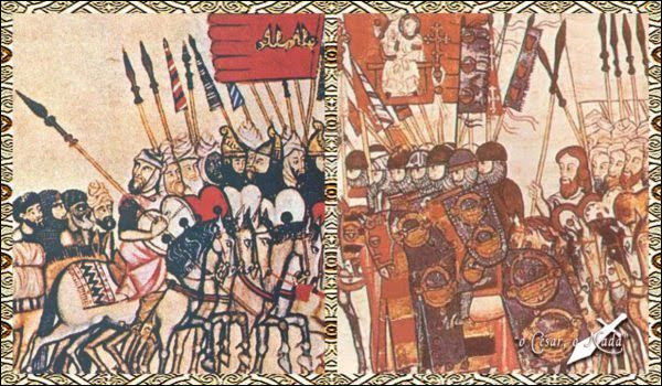 Cette bataille oppose, le 18 juillet 1195, les troupes almohades du calife Al-Mansour, qui gagne son surnom d'Annasser « le Victorieux », à l'armée du roi de Castille Alphonse VIII. Celui-ci subit une sévère défaite et doit signer un traité de paix de 10 ans avec les Almohades, qui consolident leur position en Al-Andalus.