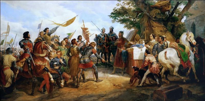 Cette bataille, le 27 juillet 1214, a opposé les troupes françaises du roi Philippe Auguste, à une coalition de seigneurs flamands, allemands renforcés de contingents anglais, menée par l'empereur Otton IV. La victoire française renforce considérablement la monarchie capétienne.
