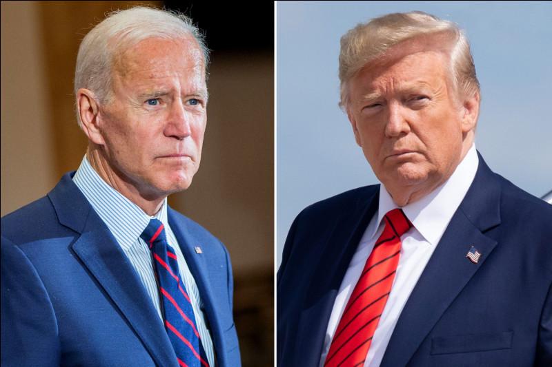 Qui était l'adversaire de Donald Trump lors du débat du 30 septembre 2020 ?
