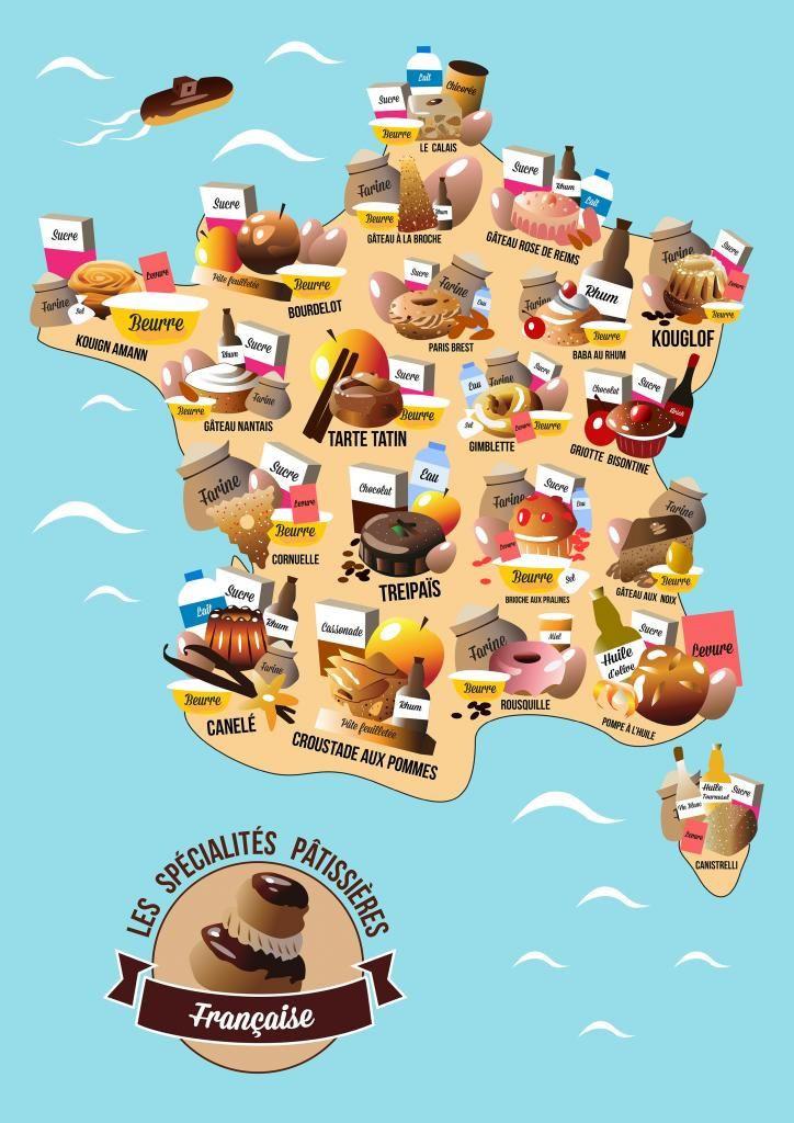 Villes réputées pour leurs spécialités gourmandes