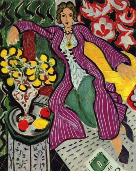 """Quel peintre est l'auteur du tableau """"Le Manteau violet"""" ?"""