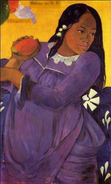 "Qui a peint ""Femme avec mangue"" ?"