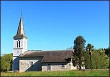 Voici l'église de l'Assomption d'Osmets. Village Bigourdan, il se situe en région ...