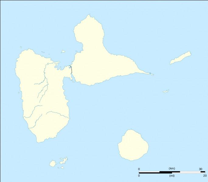 Comment s'appellent les deux parties de la Guadeloupe ?