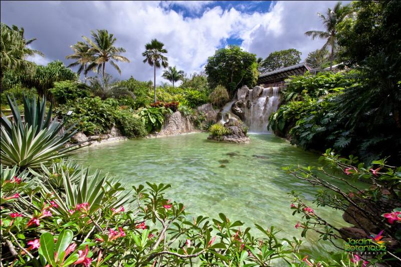 À qui appartenait le jardin botanique de Deshaies ?