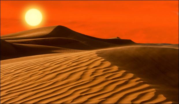 Du sable à perte de vue... c'est le désert du Sahara, l'un des plus grands du monde, quelle est sa superficie ?