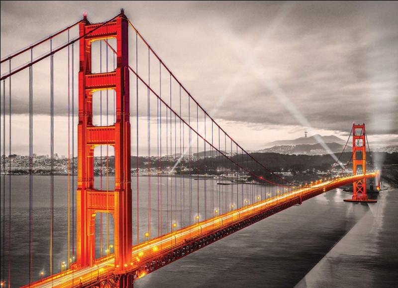 Qui, dans sa chanson, a vu San Francisco Bridge rallier l'univers en deux rives ?