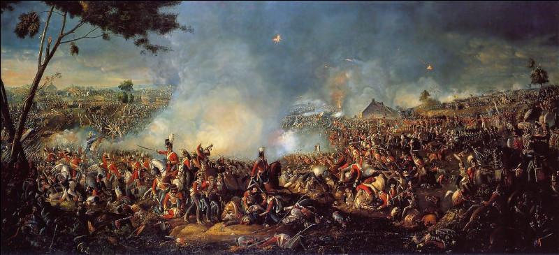 Waterloo est une ville situé dans l'état du Iowa aux États-Unis. La bataille de Waterloo, la dernière de Napoléon 1er, empereur des Français, s'est déroulée en Belgique le 18 juin 1815, opposants les troupes napoléoniennes à celles de la 7e Coalition. Connaissez-vous le chef ce la 7e Coalition ?