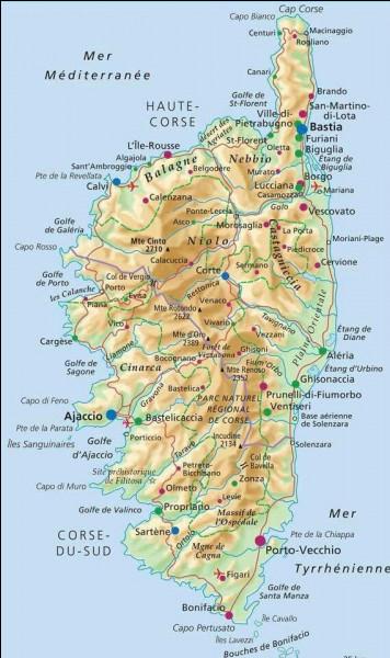 Commençons par la plus grande et la plus connue : la Corse. Sauriez-vous me donner son chef-lieu ?