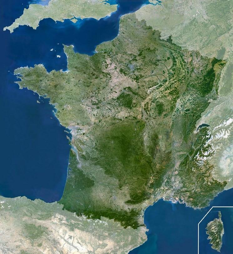 Les îles de France métropolitaine
