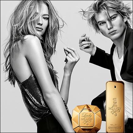 """À qui appartient le parfum """"Lady Million"""" ?"""