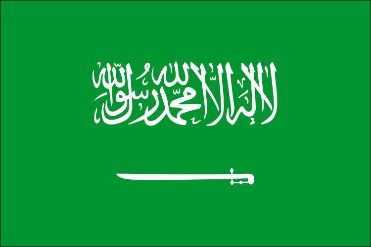 « Il n'y a de Dieu qu'Allah et Mahomet est son prophète », affirme en lettres blanches le drapeau d'Arabie Saoudite. Cette formule correspond à la shahada. Elle est donc sacrée. Conséquence :