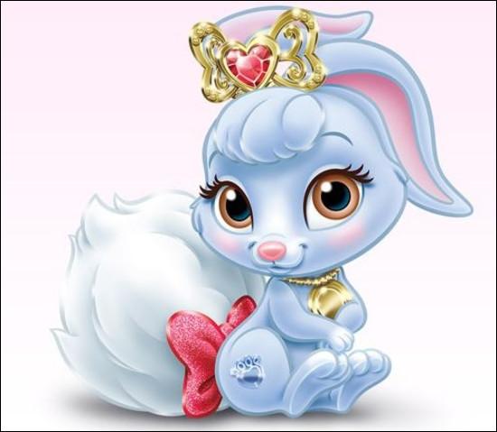 Ce mignon lapin cache une princesse mignonne elle aussi. Laquelle ?