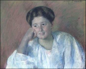 Qui a réalisé le portrait de Louisine Elder ?