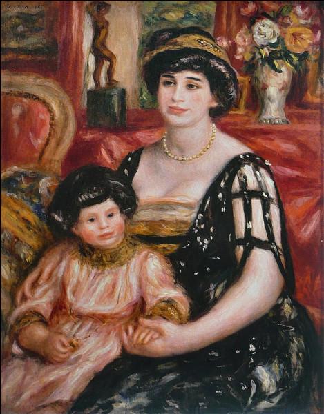 Qui a peint Madame Bernhei ?