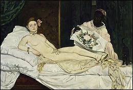 """Qui a peint ce tableau intitulé """"Olympia"""" ?"""