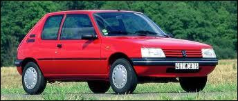Quel est ce modèle mythique de la marque Peugeot ?