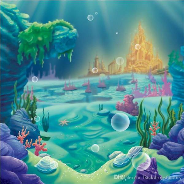 """Le château de """"La Petite Sirène"""" a été inspiré par celui de Chillon, sur les bords du lac Léman, dans quel pays ?"""