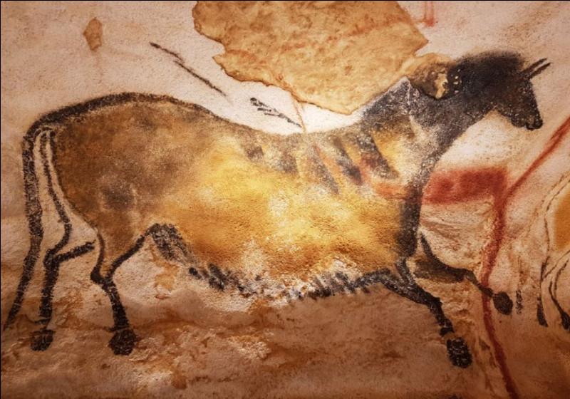 Cet animal fut dessiné par un (ou une ?) de nos ancêtres dans la grotte de Lascaux, le reconnais-tu ?