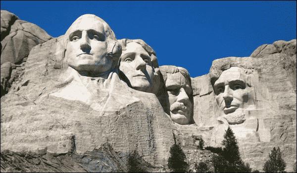 Dans quel Etat trouve-t-on le monument des quatre présidents ?