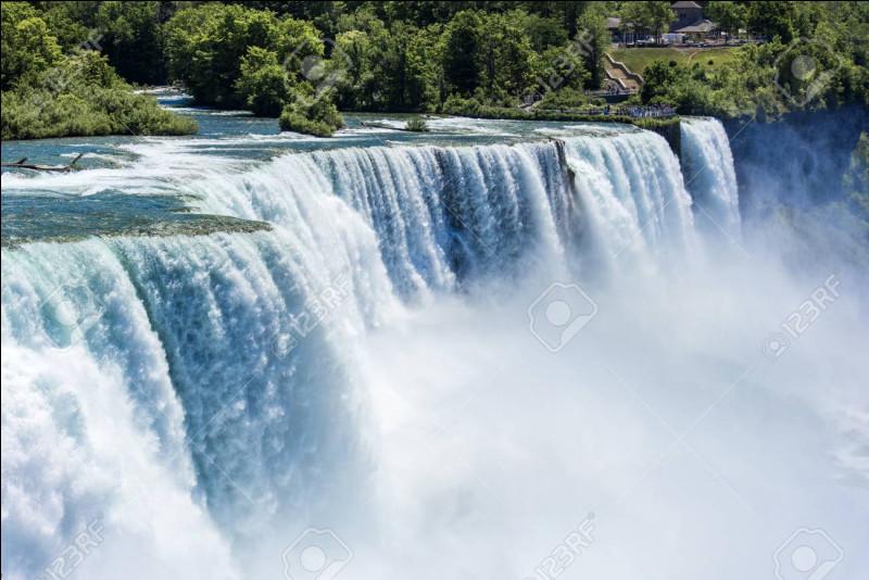 Dans quel Etat peut-on voir les chutes du Niagara ?