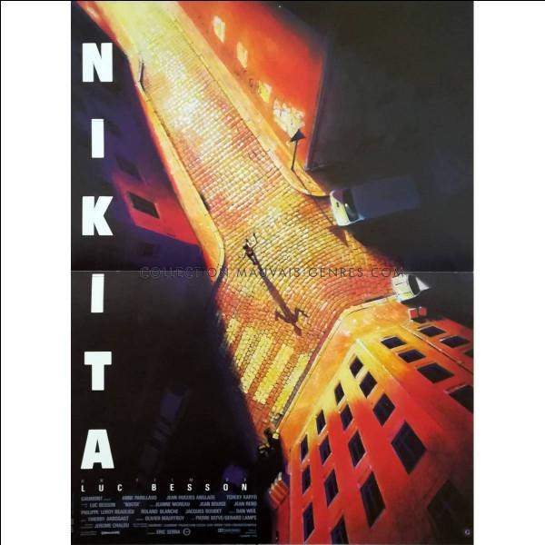 """""""Nikita"""" est un long-métrage joué par Sophie Marceau."""