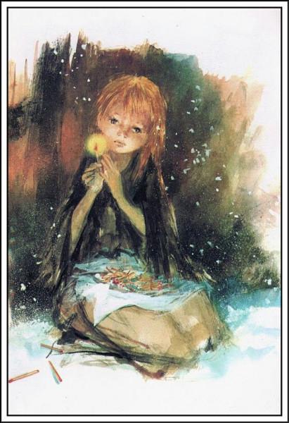 Qui a écrit le conte ''La Petite Fille aux allumettes'' ?