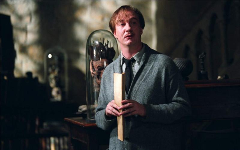 En fin d'année, lors d'un cours de Défense contre les forces du mal, Remus, ou devrais-je dire professeur Lupin, prépare un parcours pour ses élèves. Laquelle de ces créatures doivent-ils affronter ?