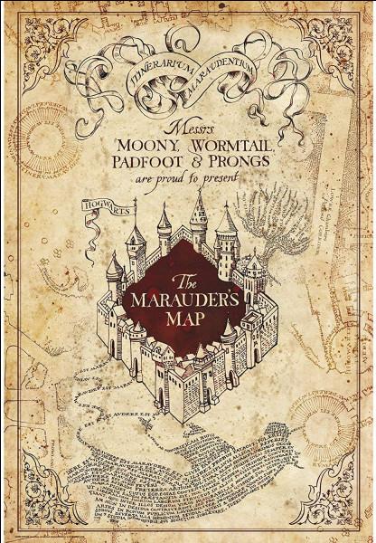 Ils créèrent ensemble la carte du Maraudeur, mais quelle incantation faut-il prononcer pour pouvoir la lire ?