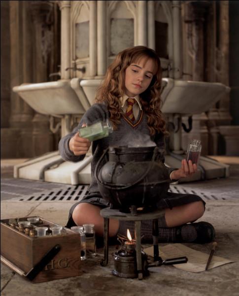 Quelle potion préparent Harry, Ron et Hermione ?