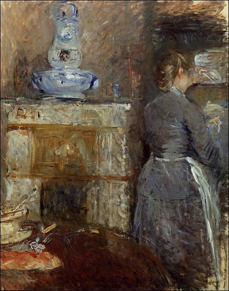 """Qui a peint """"La salle à manger du Rouart"""" ?"""