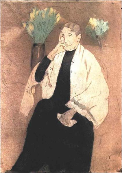 """Qui a peint """"Portrait de la mère de l'artiste"""" ?"""