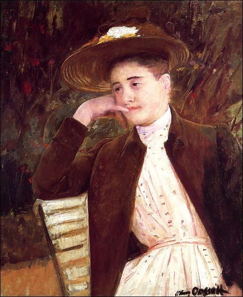 """Qui a peint """" Céleste au chapeau marron"""" ?"""
