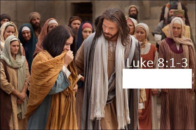 Jésus appréciait énormément la compagnie des femmes.