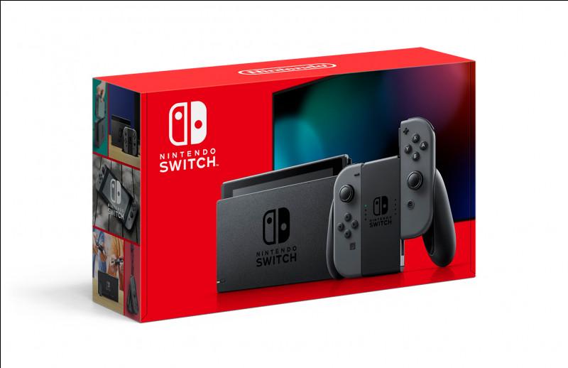 La Nintendo Switch est sortie en 2018 :