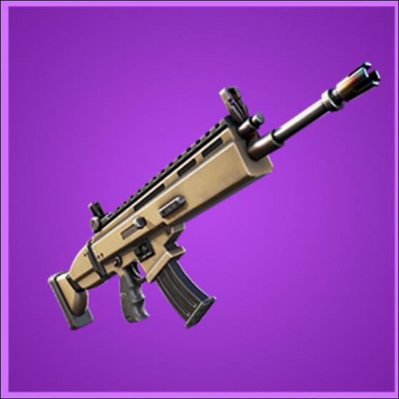Cette arme est un scar :