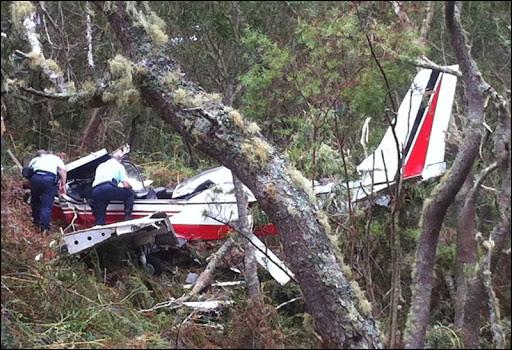 Pour clôturer, de nombreux aéronefs survolent l'île et les accidents peuvent parfois se produire. Dans le cas d'un crash d'avion ou d'hélicoptère, quel plan est prévu pour cela ?