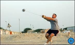 Dans quel sport retrouve-t-on le lancer du marteau ?