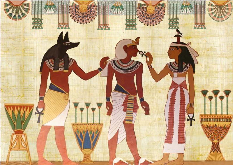 Lequel de ces noms désigne un personnage de la mythologie égyptienne ?