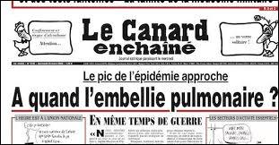 """En quelle année """"Le Canard enchaîné"""" a-t-il vu le jour ?"""