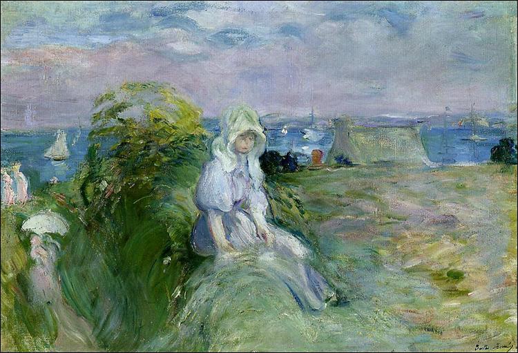 """Qui a peint """"Sur la falaise de Portrieux"""" ?"""