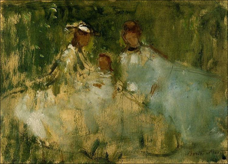 "Qui a peint ""Femmes et petites filles dans un cadre naturel"" ?"