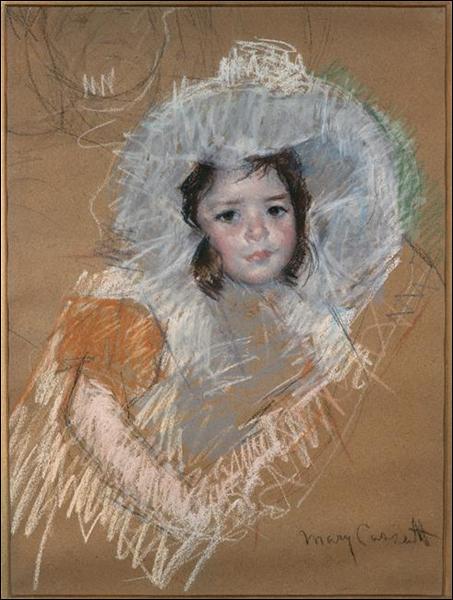 """Qui a peint """"Margaux avec un large chapeau"""" ?"""